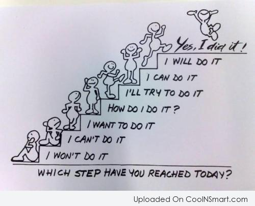 Goal Quote: Which step have you reached today?