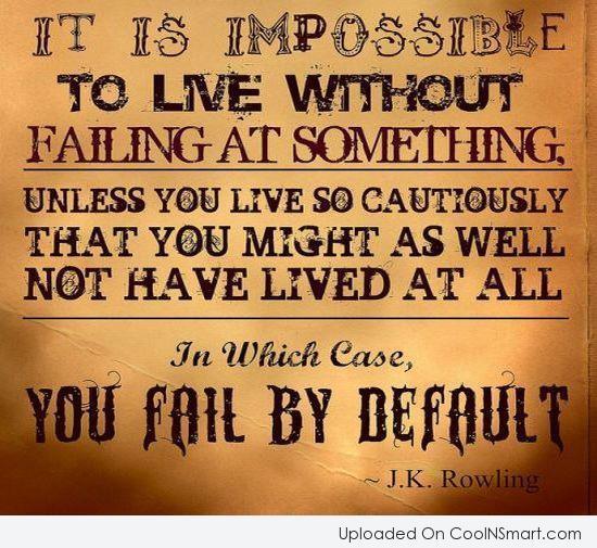 Exam Failure Quotes Failure Quote it is