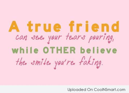 True Friend Quotes That Make You Cry: True friend for my bestest ...