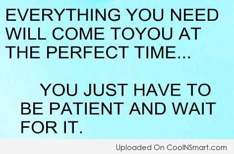 Patience Quotes And Sayings Images Pictures Coolnsmart