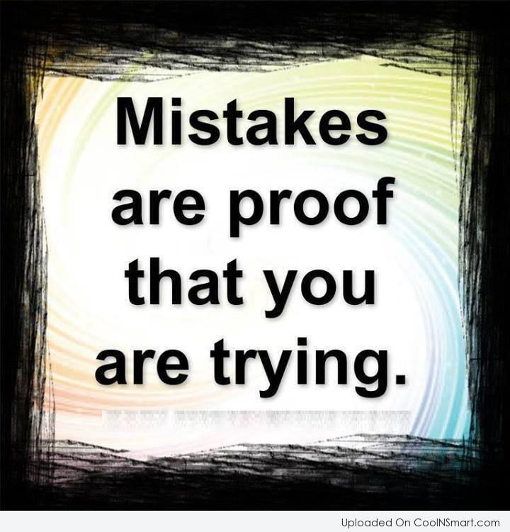 Mistake Quotes: Mistake Quotes And Sayings. QuotesGram