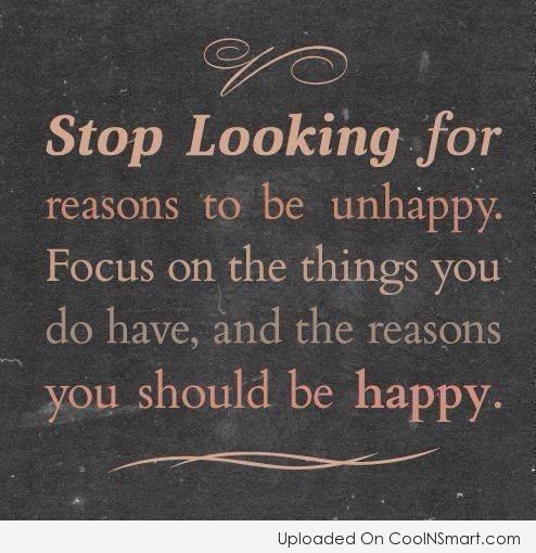 Reasons To Be Happy Quotes. QuotesGram