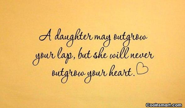 Daughter Quote: