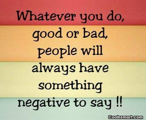 Negativity Quotes Sayings About Negative People Images Pictures