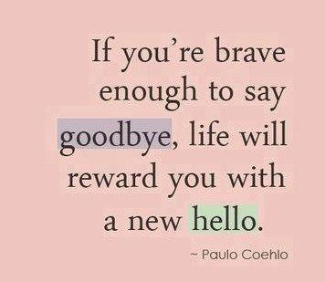 Divorce Quote: if you are brave enough to say...