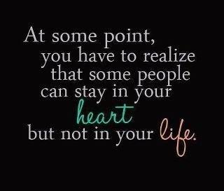 Sad Quote: At some point, you have to realize...