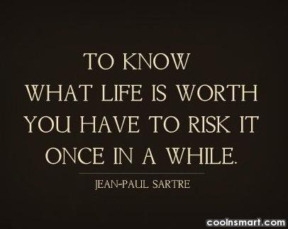Risk Quotes Inspiration Risk Quotes And Sayings  Images Pictures  Coolnsmart