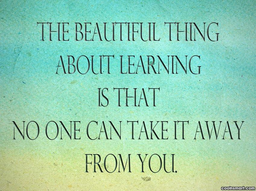 Quotes About Learning Custom Learning Quotes And Sayings Images Pictures CoolNSmart