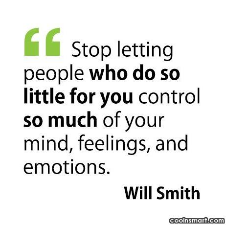 Life Quote: Stop letting people who do so little...