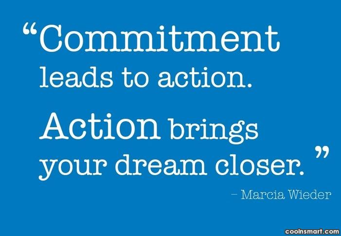Commitment Quotes and Sayings - Images, Pictures - CoolNSmart