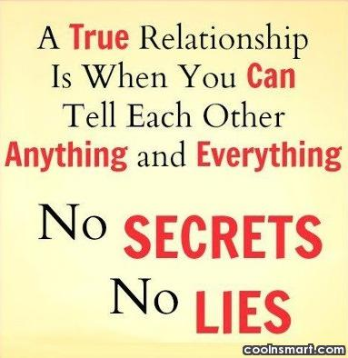 Relationship Quote: A true relationship is when you can...