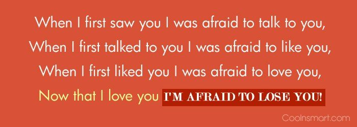 Images Quote: When I first saw you I was...