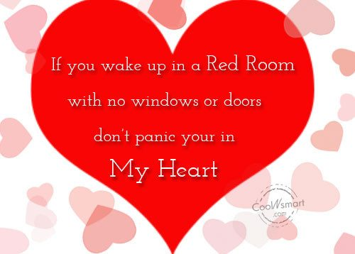 Flirting Quote: If you wake up in a red...
