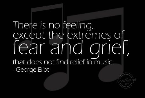 Grief Quote: There is no feeling, except the extremes...
