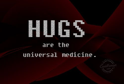 Hugs Quotes Images Hug Quote Hugs Are The