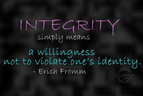 Quotes About Integrity Quotes And Sayings About Integrity  Images Pictures  Page 2 .