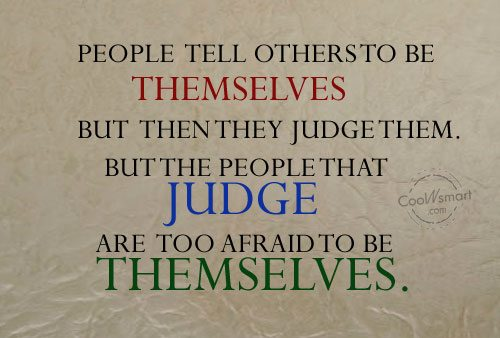 Judgement Quotes and Sayings - Images, Pictures - CoolNSmart