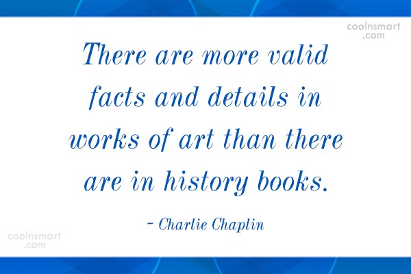 Quote: There are more valid facts and details...
