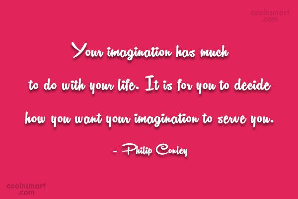 Attitude Quote: Your imagination has much to do with...