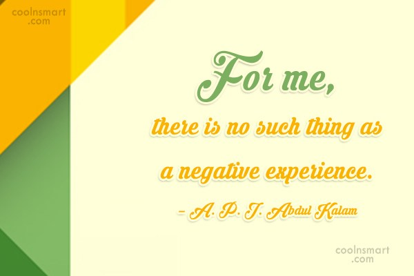 Attitude Quote: For me, there is no such thing...