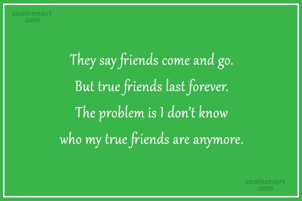 Friend Quotes Come And Go : Friends come and go quotes like success