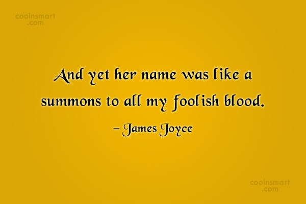 Quote: And yet her name was like a...