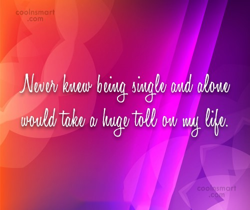 Loneliness Quotes, Sayings about feeling lonely - Images, Pictures ...