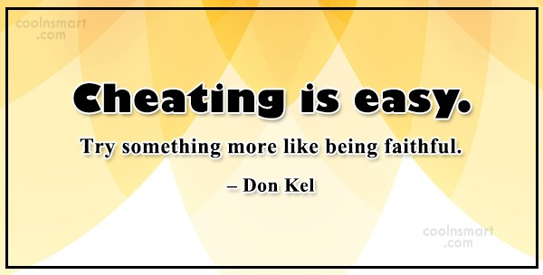 Quote: Cheating is easy. Try something more like...