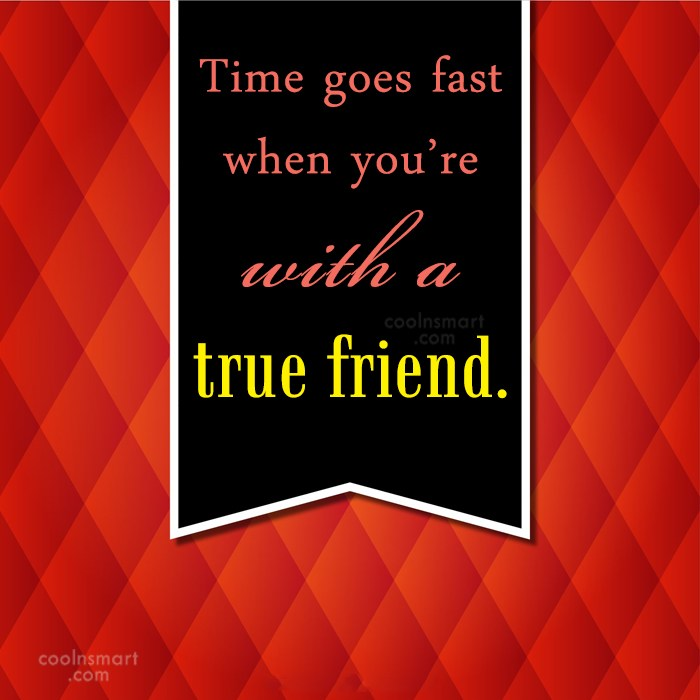Quote: Time goes fast when you're with a...