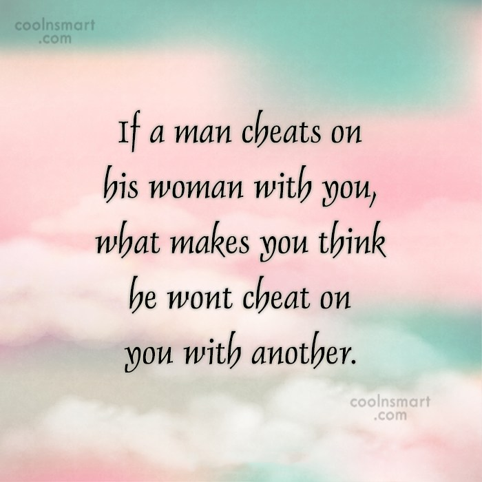 His What On A Girlfriend Cheat Man Makes