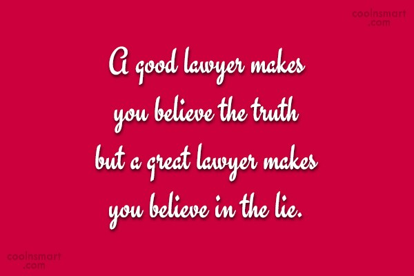 Lawyer Quotes and Sayings - Images, Pictures - CoolNSmart