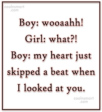 Boy flirting with girl quotes