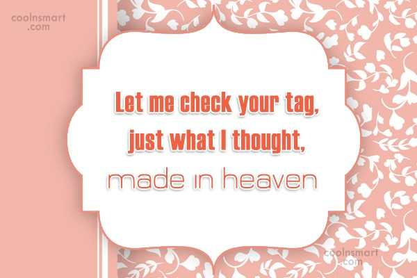 Quote: Let me check your tag, just what...