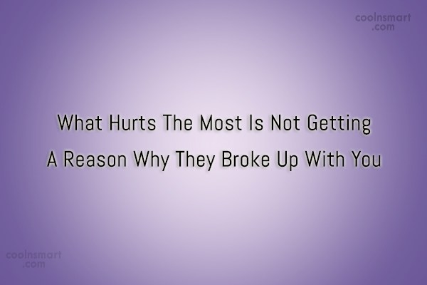 Quote: What Hurts The Most Is Not Getting...