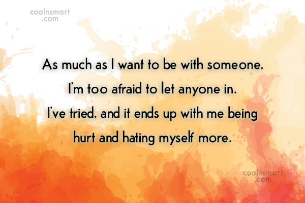 Giving Up Quote: As much as I want to be...