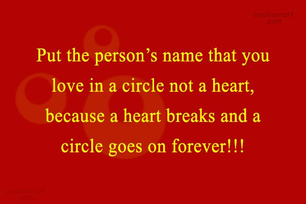 Quote: Put the person's name that you love...