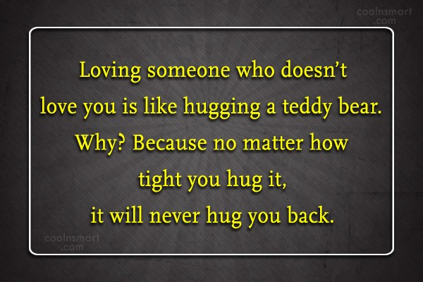 quotes about loving someone that doesn t love you back