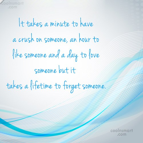 Quote: It takes a minute to have a...