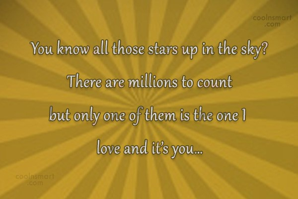 Images Quote: You know all those stars up in...