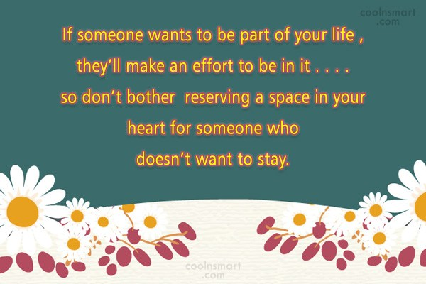 Quote: If someone wants to be part of...