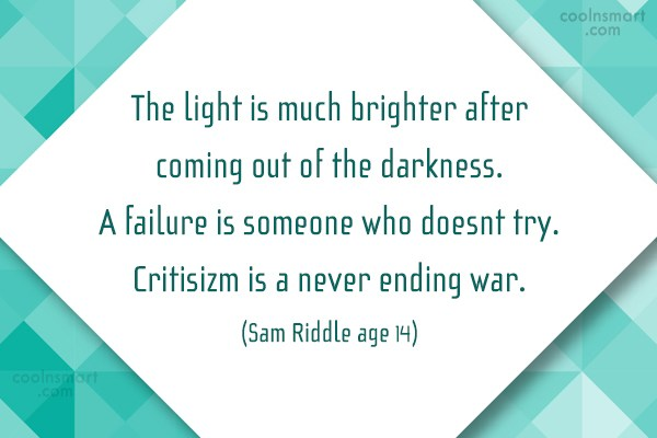Quote: The light is much brighter after coming...