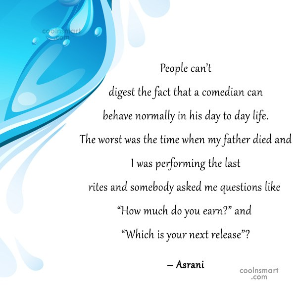 Quote: People can't digest the fact that a...