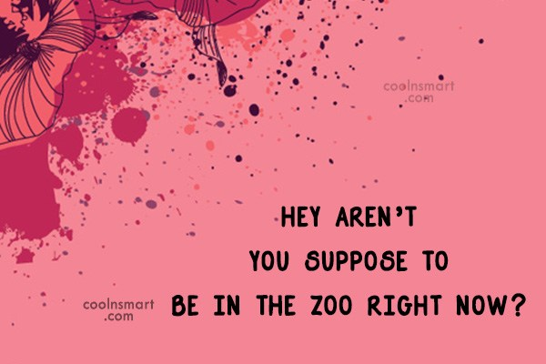 Quote: Hey aren't you suppose to be in...