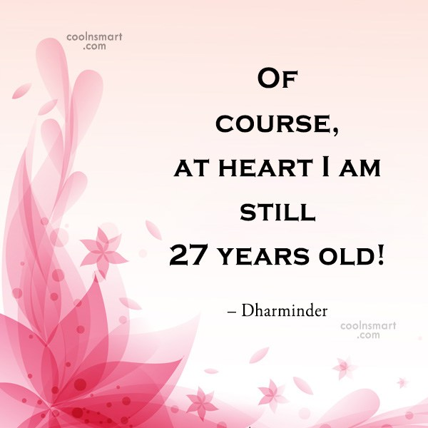 Quote: Of course, at heart I am still...