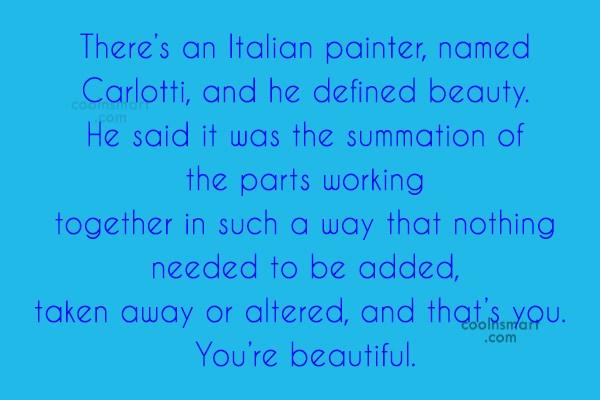 イタリアの画家carlotti