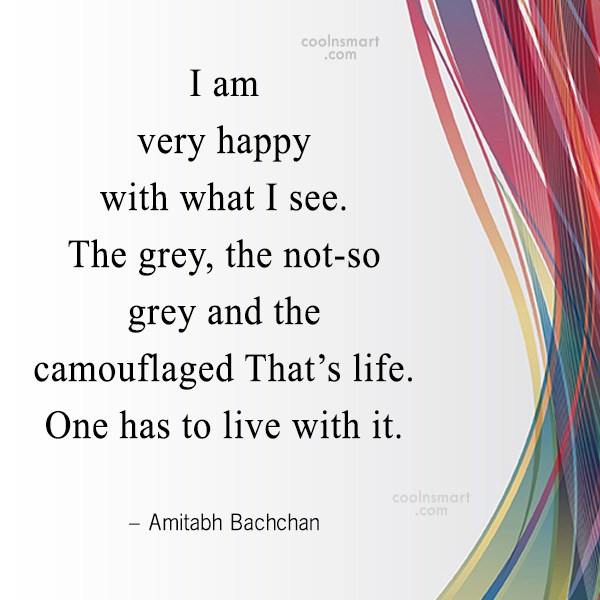 Quote: I am very happy with what I...