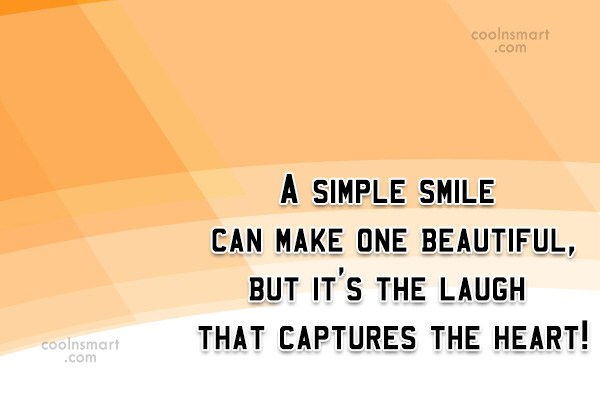 Image of: Peace Smile Quote Simple Smile Can Make One Beautiful Yourquote Smile Quotes Sayings About Smiling Images Pictures Page