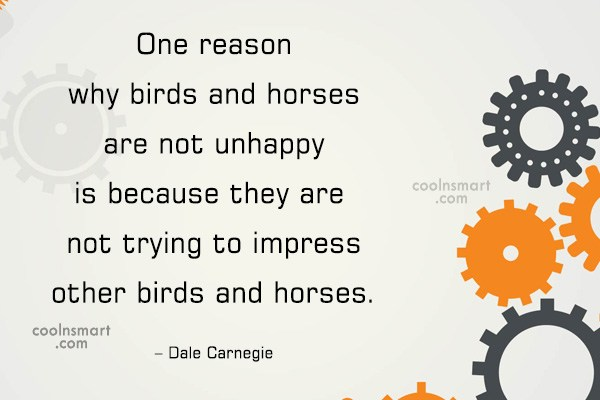 Quote: One reason why birds and horses are...