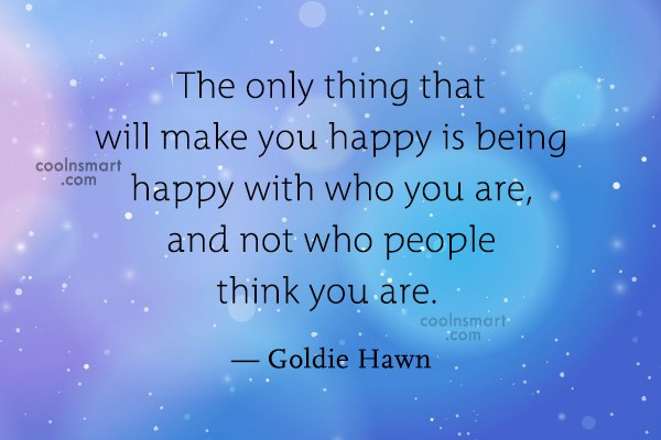 Quote: The only thing that will make you...
