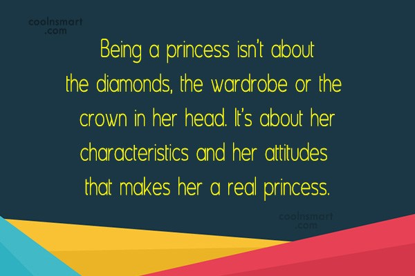 Beauty Quotes and Sayings - Images, Pictures - Page 14 ... Quotes About Being A Princess